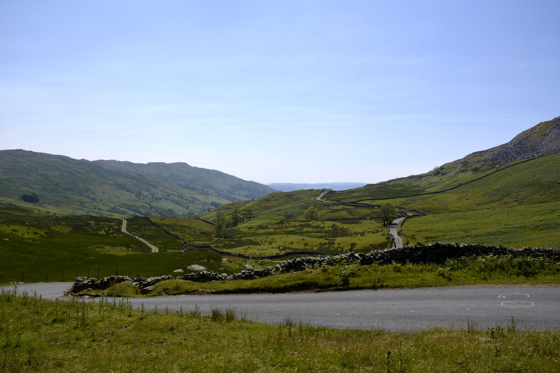 View From Kirkstone Pass Lake District